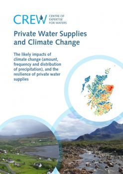 Report: Private water supplies and the potential implications of climate change