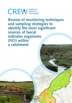 Report cover FIO monitoring and sampling