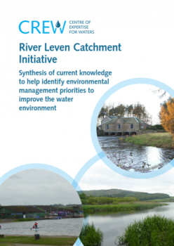 Report front cover photos of River Leven