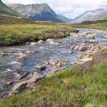 River in highlands