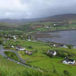 Rural community on Isle of Skye