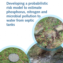 Image of septic tank modelling report